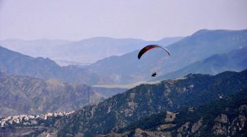 New flight spot near Odzun village, North of Armenia